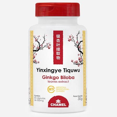 nkgo Biloba extrato - Yinxingye Tiquwu - 60 cápsulas.