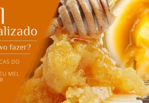 Mel cristalizado - o que fazer quando o mel cristalizar